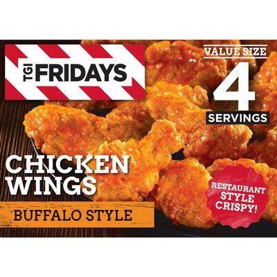 Tgif Buffalo Style Chicken Wings Value Size Frozen Snacks