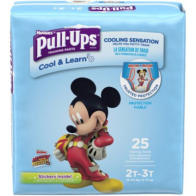 Pull-Ups Cool & Learn Potty Training Pants for Boys