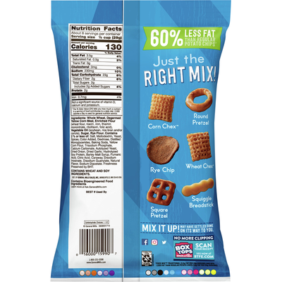Chex Mix Snack Mix, Savory, Traditional
