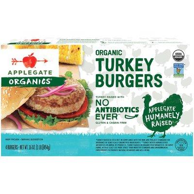 Applegate Organic Turkey Burgers
