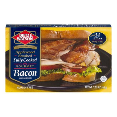Dietz & Watson Fully Cooked and Ready to Eat Gourmet Bacon