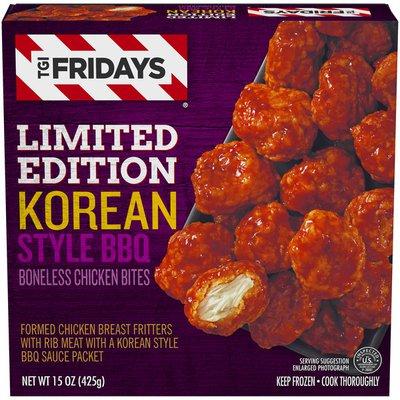 Tgif Limited Edition Korean Style BBQ Boneless Chicken Bites Frozen Snacks