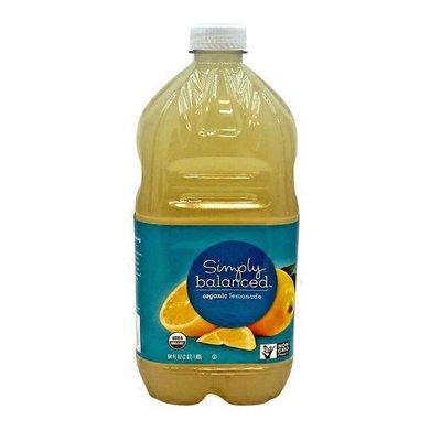 Simply Balanced Organic Lemonade