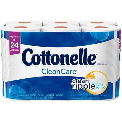 Cottonelle CleanCare Double Roll Toilet Paper