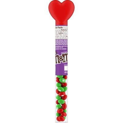 M&M's Milk Chocolate Valentine Candy Heart Candy Cane