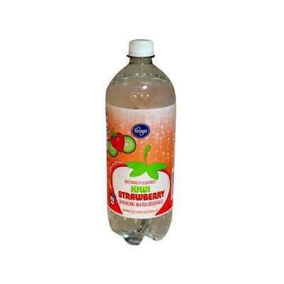 Kroger Sparkling Water Beverage, Kiwi Strawberry