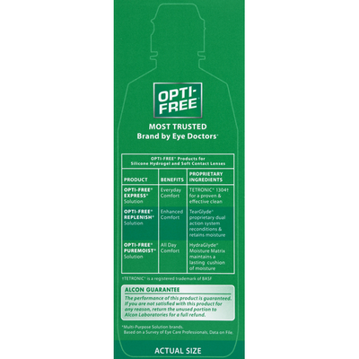OPTI-FREE Disinfecting Solution, Multi-Purpose, Enhanced Comfort