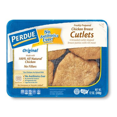 Perdue Breaded Chicken Breast Cutlets
