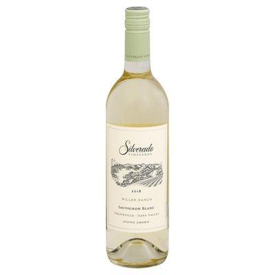 Silverado Vineyards Sauvignon Blanc, Miller Ranch, 2018