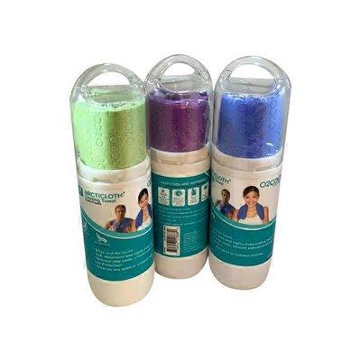 O2COOL Arcti Cloth Sport Cooling Towel, Assorted Colors