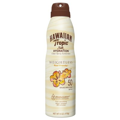 Hawaiian Tropic Hawaiian Tropic Weightless Ultra Mist Sunscreen Spray SPF 50