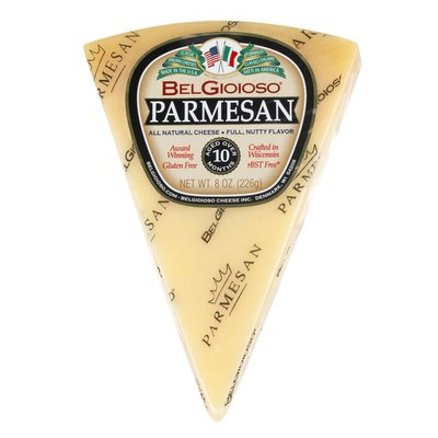 BelGioioso Parmesan Cheese, Wedge, Cryo