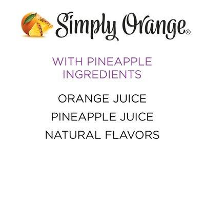 Simply Orange Juice With Pineapple