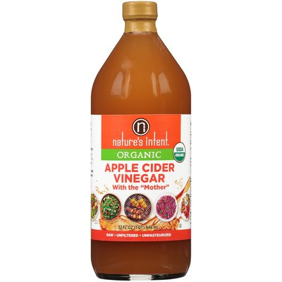 Nature's Intent Organic Apple Cider Vinegar