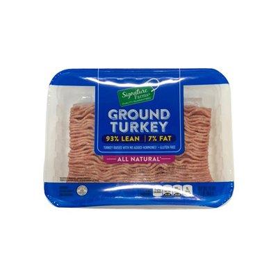 Signature Farms 93% Lean Ground Turkey