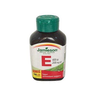 Jamieson Vitamin E 400 Iu Bonus Size Soft Gels