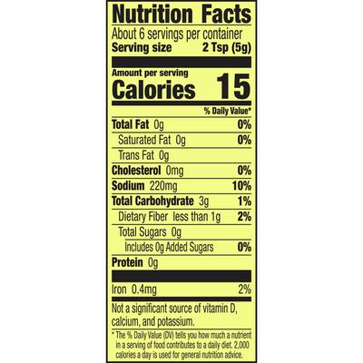 Old El Paso Taco Seasoning Mix, 25% Less Sodium
