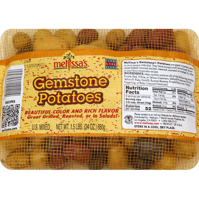 Melissa's Potatoes, Gemstone