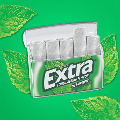 Extra Spearmint Sugar Free Chewing Gum Mega Pack