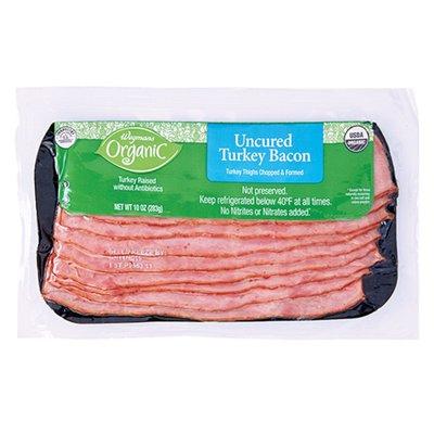 Wegmans Organic Food You Feel Good About Uncured Turkey Bacon