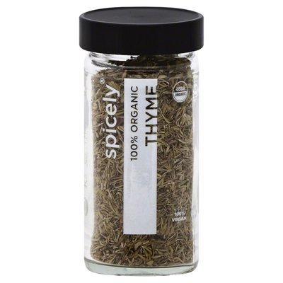 Spicely Organics Thyme, 100%  Organic