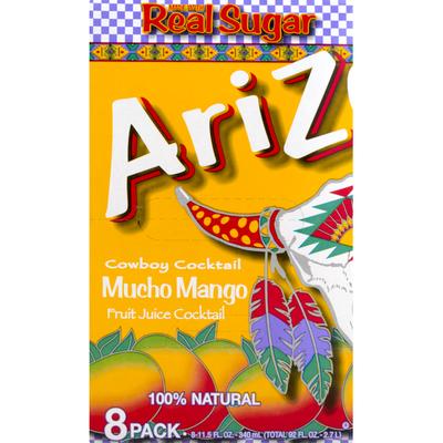 Arizona Cowboy Cocktail Mucho Mango Fruit Juice Cocktail