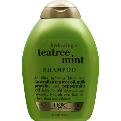 OGX Shampoo, Hydrating + Teatree Mint