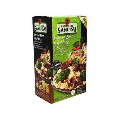 Simmering Samurai Broccoli Beef Fried Rice