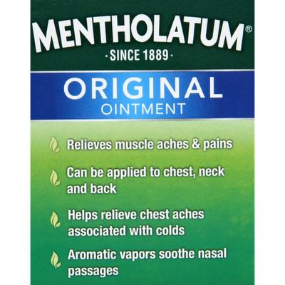 Mentholatum Topical Analgesic Rub, Ointment