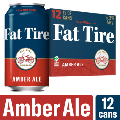 Fat Tire Amber Ale Beer, Amber Ale