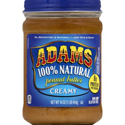 Adams Peanut Butter, Creamy