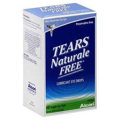 Alcon Eye Drops, Lubricant, Mild/Moderate Dry Eye, Single-Use Vials