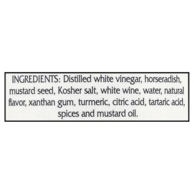 Braswell's Mustard, Hot Horseradish