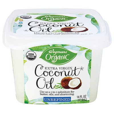 Wegmans Organic Unrefined Extra Virgin Coconut Oil