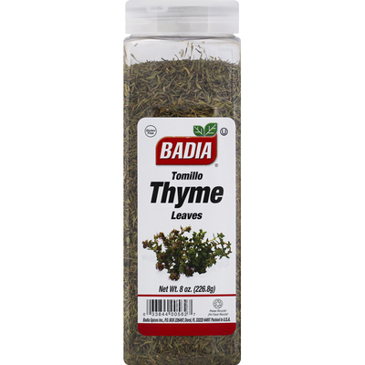Badia Thyme, Leaves