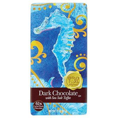 Wegmans Food You Feel Good About Dark Chocolate with Sea Salt Toffee