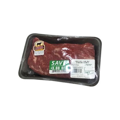 * Angus Beef Flank Meat