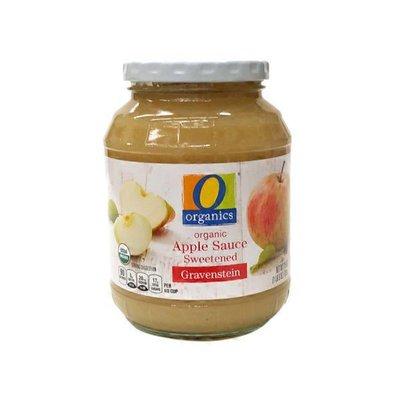 O Organics Organic Sweetened Gravenstein Apple Sauce