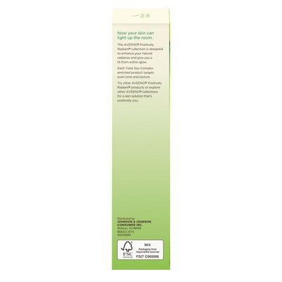 Aveeno Positively Radiant Daily Moisturizer With Broad Spectrum SPF 15