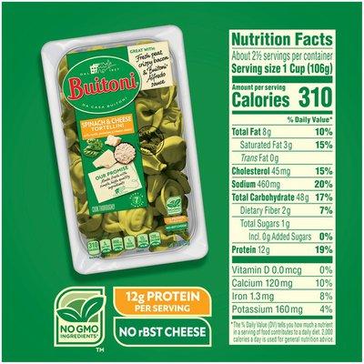 Buitoni Spinach & Cheese Tortellini Refrigerated Pasta