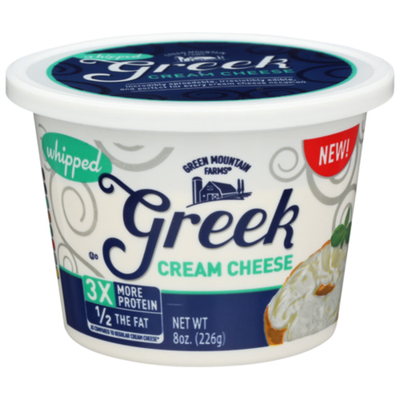 Green Mountain Farms Cream Cheese & Greek Yogurt, Whipped