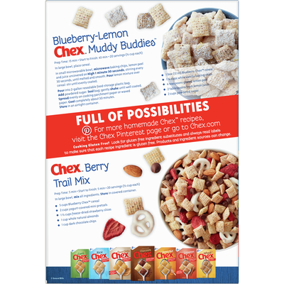 Chex Cereal, Blueberry, Gluten Free