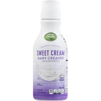 Open Nature Dairy Creamer, Sweet Cream