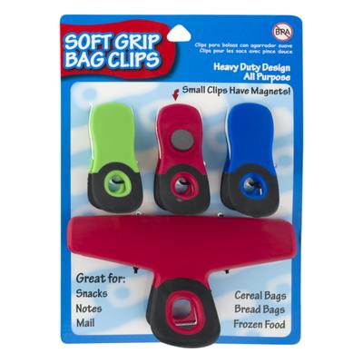 Items 4 U ! Soft Grip Bag Clips