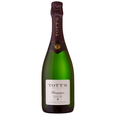 Totts Extra Dry Champagne Sparkling Wine