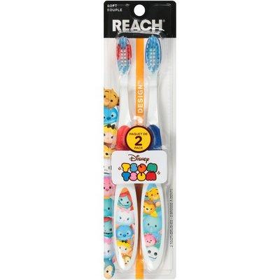 Reach Disney Tsum Tsum Soft Toothbrushes