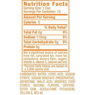 Sunkist Orange Soda