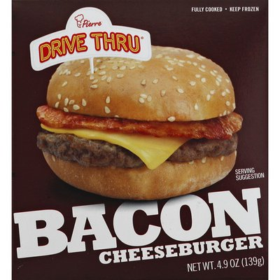 Pierre's Cheeseburger, Bacon