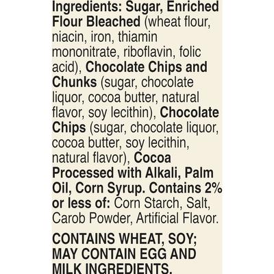 Betty Crocker Delights Triple Chunk Supreme Brownie Mix