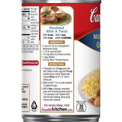 Campbell's® Mushroom Gravy